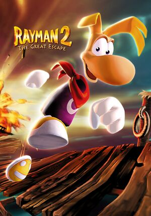 Rayman 2: The Great Escape cover