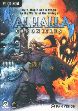 Valhalla Chronicles cover