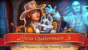 Alicia Quatermain 3: The Mystery of the Flaming Gold cover