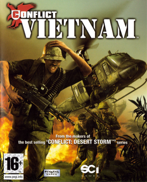 Conflict: Vietnam cover