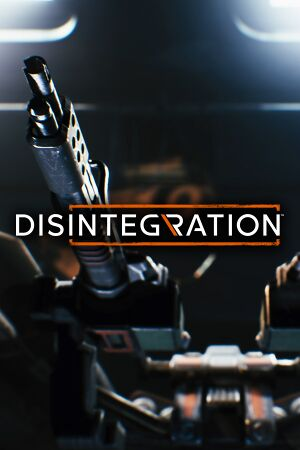 Disintegration cover