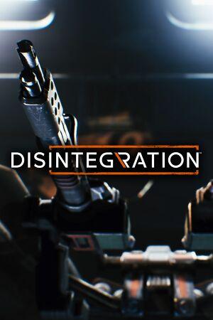 Disintegration cover