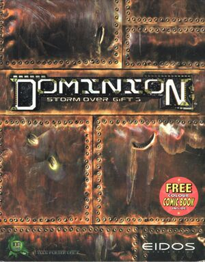 Dominion: Storm Over Gift 3 cover