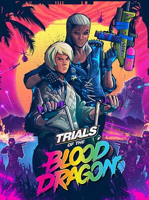 Trials of the Blood Dragon cover