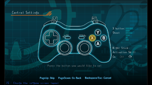 Launcher controller rebinding. Keyboard rebinding is identical, excluding right stick skill activation as regular buttons can be used.