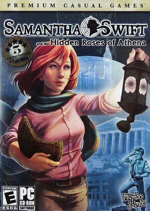 Samantha Swift and the Hidden Roses of Athena cover