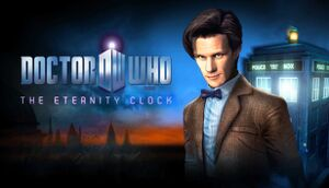 Doctor Who: The Eternity Clock cover