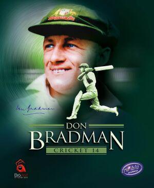 Don Bradman Cricket 14 cover
