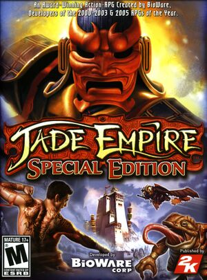 Jade Empire: Special Edition cover