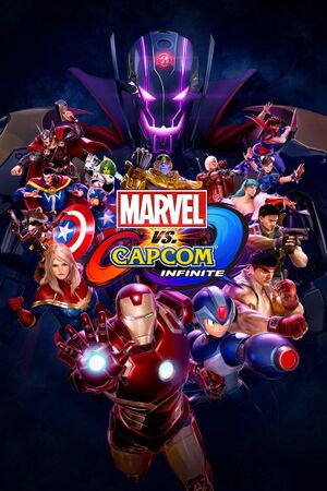 Marvel vs. Capcom: Infinite cover