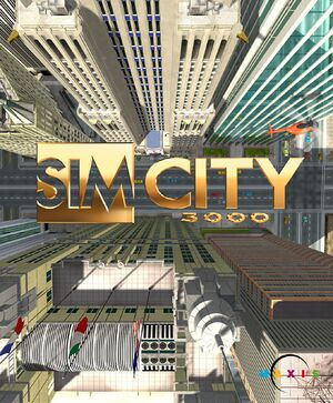 SimCity 3000 cover