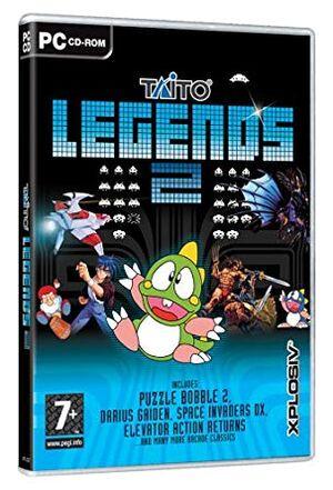 Taito Legends 2 cover