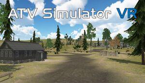 ATV Simulator VR cover