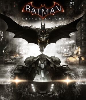 Batman: Arkham Knight cover
