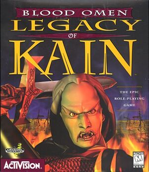 Blood Omen: Legacy of Kain cover