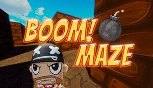 Boom! Maze cover