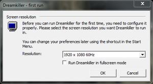 Video settings in launcher settings.