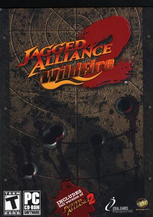 Jagged Alliance 2: Wildfire cover
