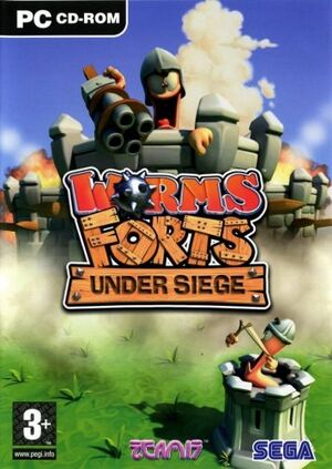 Worms Forts: Under Siege cover