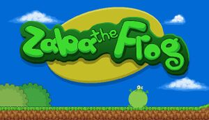 Zaba The Frog cover