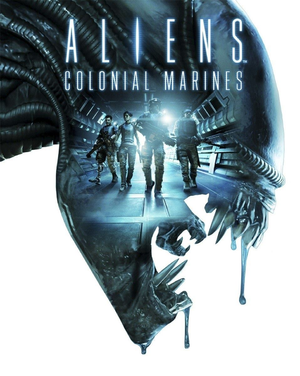 Aliens: Colonial Marines cover