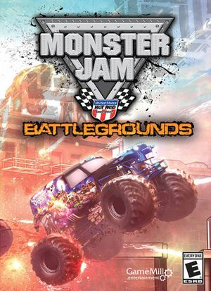Monster Jam Battlegrounds cover