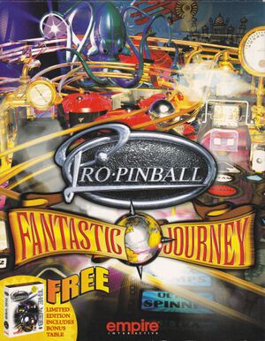 Pro Pinball: Fantastic Journey cover