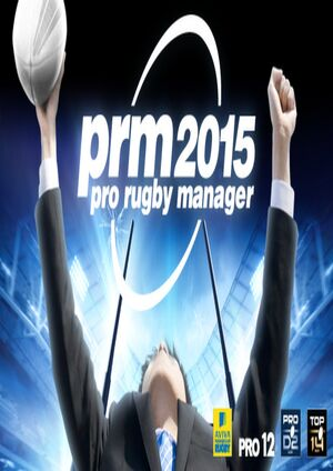 Pro Rugby Manager 2015 cover