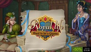 Royal Life: Hard to be a Queen cover