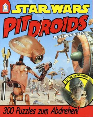 Star Wars: Pit Droids cover