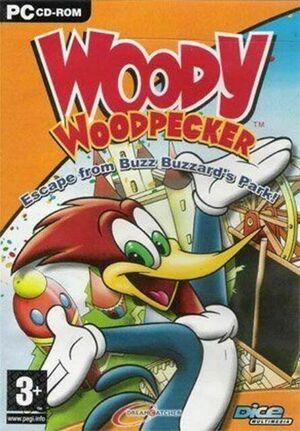 Woody Woodpecker Escape From Buzz Buzzard Park cover