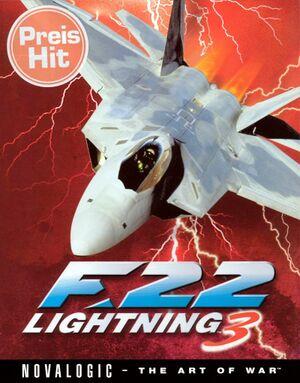 F-22 Lightning 3 cover