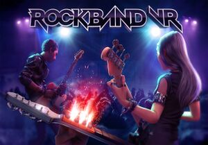 Rock Band VR cover