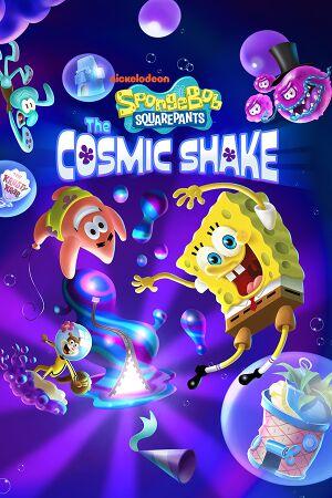 SpongeBob SquarePants: The Cosmic Shake cover