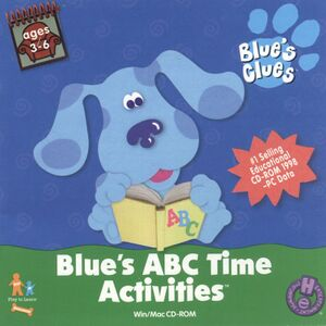 Blue's ABC Time Activities cover