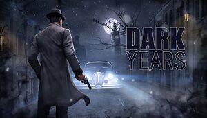 Dark Years cover