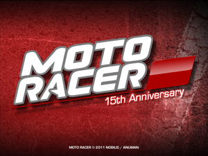 Moto Racer 15th Anniversary cover