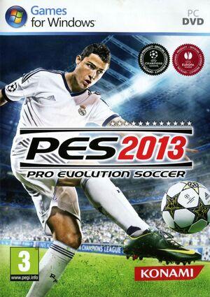 Pro Evolution Soccer 2013 cover