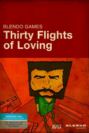 Thirty Flights of Loving cover