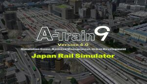 A-Train 9 V4.0: Japan Rail Simulator cover