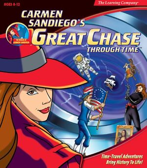 Where in Time is Carmen Sandiego? / Carmen Sandiego's Great Chase Through Time cover