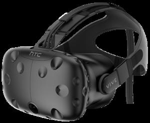 HTC Vive headset.