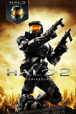 Halo 2: Anniversary cover