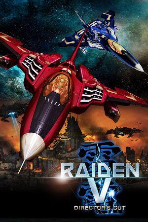 Raiden V: Director's Cut cover