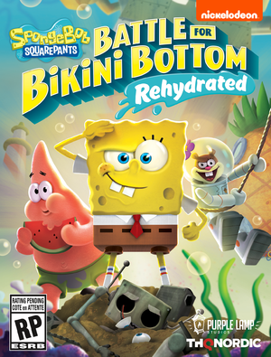 SpongeBob SquarePants: Battle for Bikini Bottom Rehydrated cover