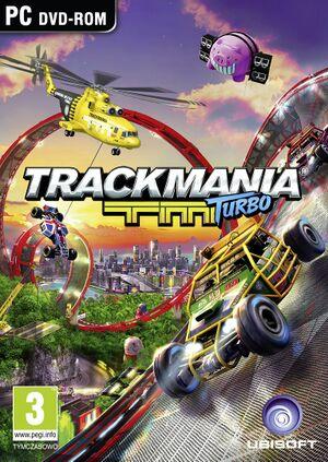 Trackmania Turbo cover