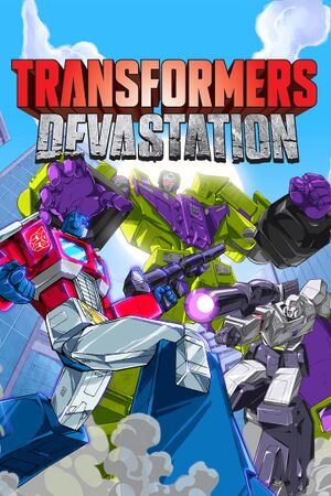 Transformers: Devastation cover