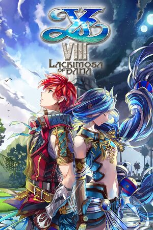 Ys VIII: Lacrimosa of DANA cover