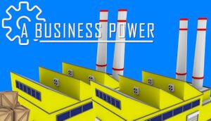 A Business Power cover