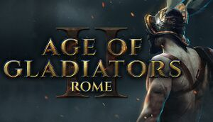 Age of Gladiators II: Rome cover